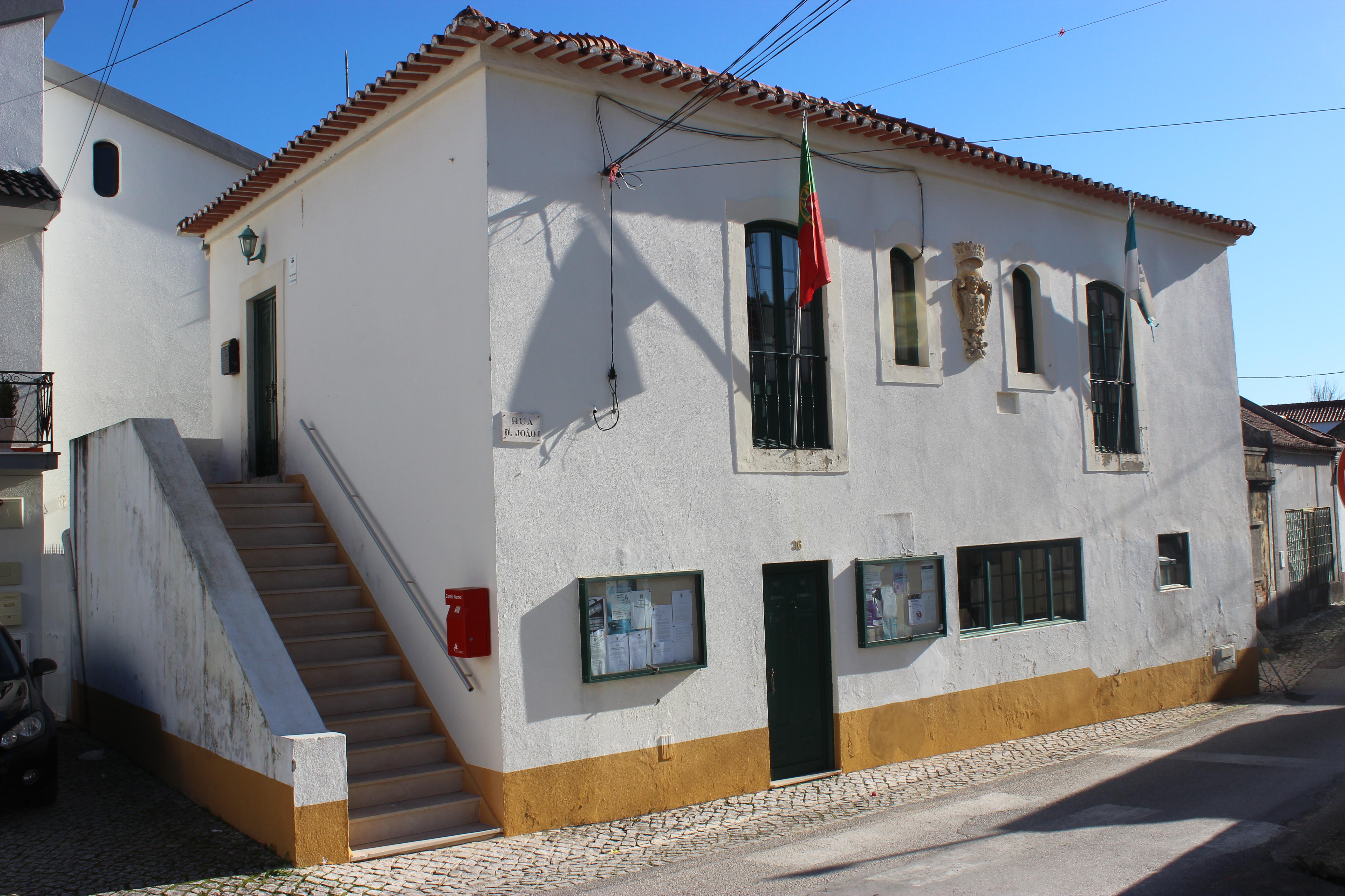Antiga sede de concelho de Alcoentre